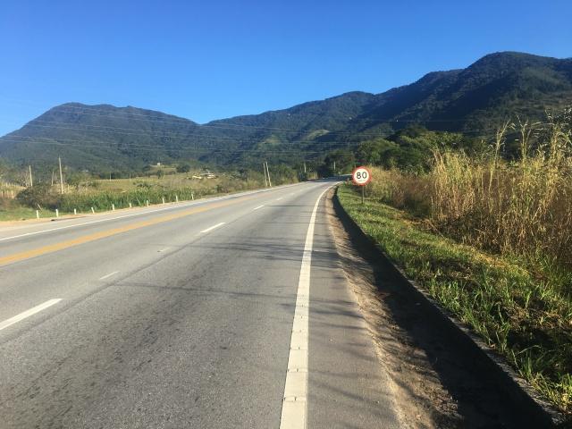 Subindo a Serra Nova de Campos, Km 1