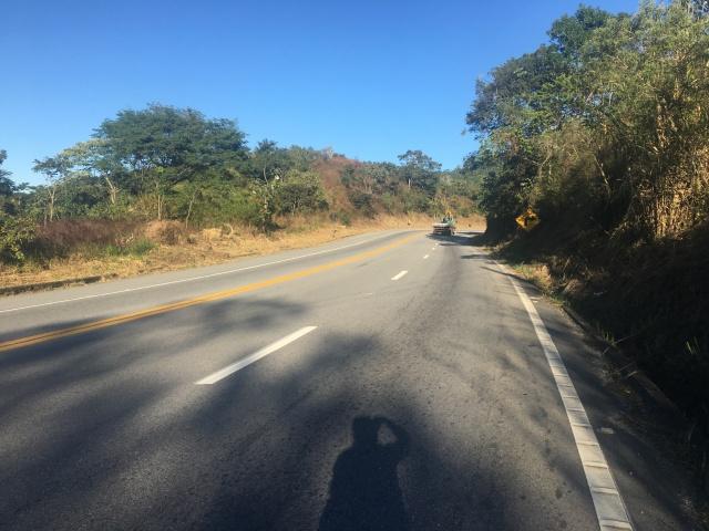Subindo a Serra Nova de Campos - KM 3