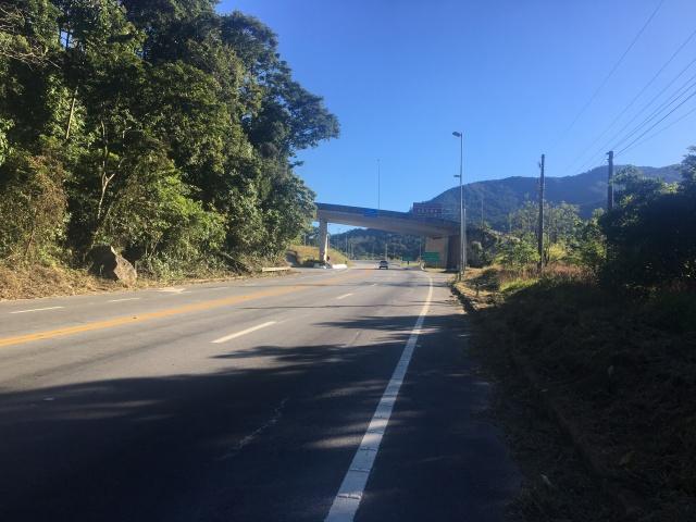 Subindo a Serra Nova de Campos - Km 7