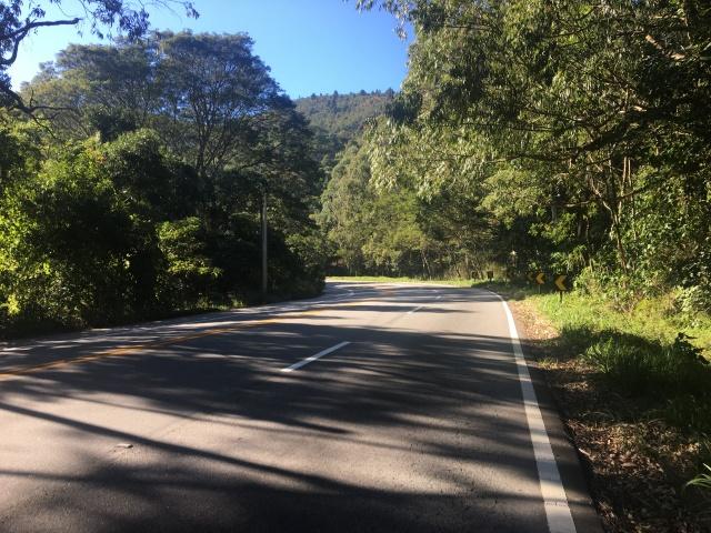 Subindo a Serra Nova de Campos - Km 12