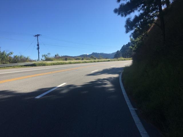 Subindo a Serra de Campos - Km 13